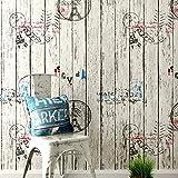 lsaiyy wasserdichte Selbstklebende Tapete Schlafzimmer Studentenwohnheim dicken PVC wallpaper-60CMX3M