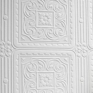 Anaglypta Turner Tile Wallpaper - RD80000