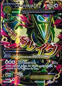 carte Pokémon 105/108 M-Rayquaza-EX 220 PV ULTRA RARE XY 6 Ciel Rugissant NEUF
