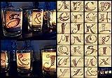 SiebenPfeile's kleine Glasteelichthalter Kerzenhalter