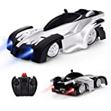 Baztoy Remote Control Car, Kids Toys Wall Stunt RC Car Rechargeable Led Lights Electric Vehicle Children Games Cool Gadgets G