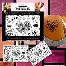 Amazon Fr Tatouage Papillon Pied Cheville