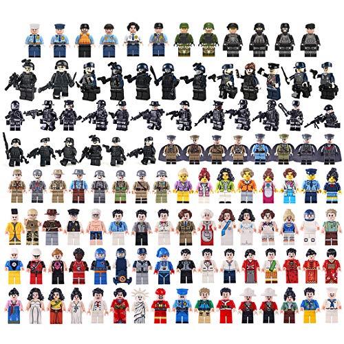 MOEGEN 122 unids Mini Figuras Set Soldadores