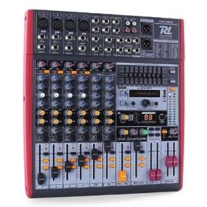 Power Dynamics PDM-S803 Table de mixage 8 pistes USB DSP MP3