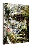 Premium Leinwanddruck 75x100 cm – Marlon Brando – XXL Kunstdruck Auf Leinwand Auf 2cm Holz-Keilrahmen – Handgemachte Fotoleinwand In Deutsche Markenqualität Für Wohn- Und Schlafzimmer Von Joe Ganech X Gallery Of Innovative Art