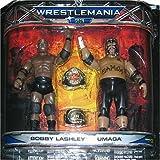 WWE Wrestlemania XXIII Series 3 2-Pack Figure Set Bobby Lashley and Umaga by Jakks