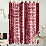 Hargunz Eyelet polyester door curtains-R...