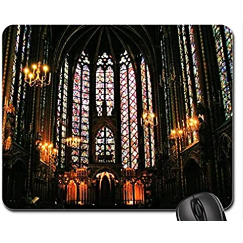Ste Chapelle cathedral Mouse Pad, Mousepad (Religious