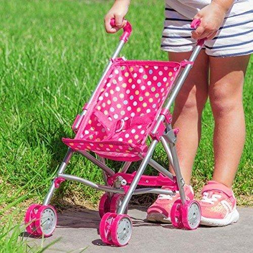 Sillita de Paseo para Muñecos Pink