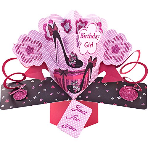 suki-gifts-international-pop-up-card-birthday-girl-shoes-multi-colour