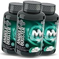 Preisvergleich für ANABOLIC TB MAXX | 3 x 80 Tabletten (vegan) | HOCHDOSIERT | Natürlicher Testosteron-Booster | Mit Tribulus + Maca...