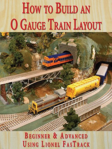 How to Build An O Gauge Train Layout Beginner & Advanced - Using Lionel FasTrack [OV] - O Gauge Layout