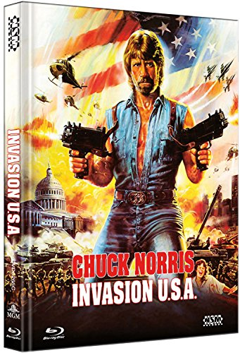 Invasion U.S.A - uncut (Blu-Ray+DVD) auf 444 limitiertes Mediabook Cover C [Limited Collector's Edition]