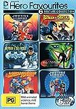 hero favourites - DC Justice Leage Batman vs Dracula / Batman & Mr Freeze / Batman Superman Movie / Batman Beyond (6 DVD)