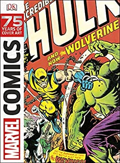 Marvel Comics: 75 Years of Cover Art (1465420401) | Amazon price tracker / tracking, Amazon price history charts, Amazon price watches, Amazon price drop alerts