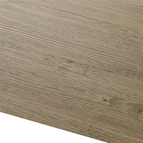 [neu.haus] Vinyl-PVC Laminat (1m²) Selbstklebend - Design Bodenbelag (7 Dekor Dielen = 0,975 qm) Eiche - Natural Edition -