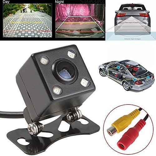 XIAOWANG Universal Rückfahr-Fahrzeug-Backup-Kameras 120 Grad Car Backup-Kamera