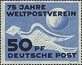 DDR 242 (kompl.Ausg.), Die 1. Ausgabe der DDR postfrisch 1949 Weltpostverein (Briefmarken für Sammler)