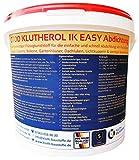 Flüssigkunststoff 1K KLUTHEROL Easy Abdichtung - 14KG zur Abdichtung von Flachdächer, Balkone, Detailanschlüsse und Bauelemente
