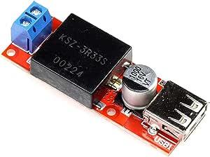 5v 3a Dc Dc Converter With Usb Port 7 24v Input Voltage Kis3r33s Step Down Module
