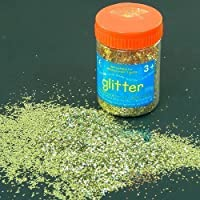 Gold Art and Craft Glitter - 100g Tub
