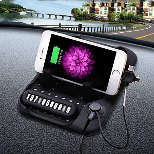 2018New Car Ladegerät Ständer Sticky Silikon Auto Dash Pad Matte Handy Halterung Cradle Dock für Smartphones, Tisch PC, GPS, Gläser, Münzen, Golf Cart, Wassersport, Lautsprecher.