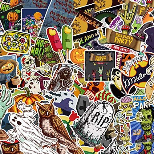 Weihnachts-Halloween-Aufkleber, Set Halloween Sticker bunt