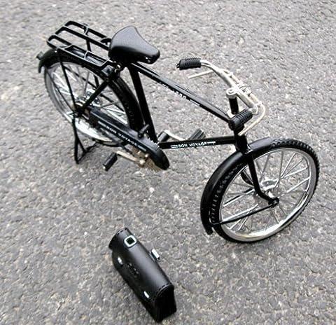 Vintage Bicycle model decoration decoration ideas,Black bag