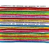 Bonfim: 25 original Bonfim Bänder, verschiedene Farben. Brasilianische Glücksbringer Wunschbänder. 3 Knoten = 3 Wünsche! Talisman. Wunschbändchen. Glücksbändchen.  - 3
