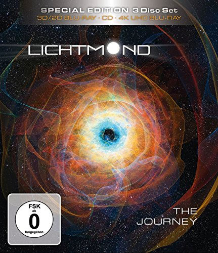 Lichtmond: The Journey - Special Edition Ultra HD Blu-ray [4k + 3D + Blu-ray Disc]