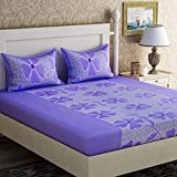 #8: BALAJI FAB™ bedsheets for double bed cotton bedsheet (1 Double Bedsheet With 2 Pillow Cover)