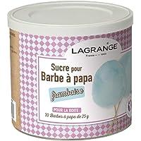 LAGRANGE Boîte de 500 g de sucre barbe à papa Framboise 380008