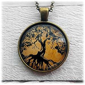 Tree of Life Baum des Lebens Anhänger und Halskette