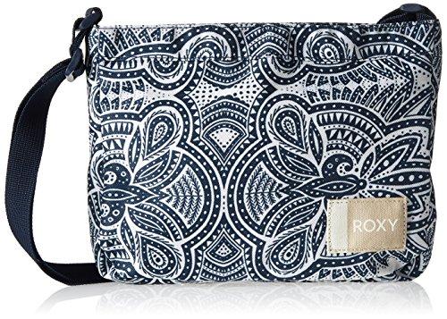 Roxy Sunday Smile, Damen Schultertasche, Weiß (Marshmallow/Stripe), 4x39x47 cm (W x H L) (Roxy Weiße Handtaschen)