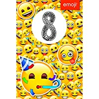 GEMMA 259674 Emoji Age 8 Birthday Card