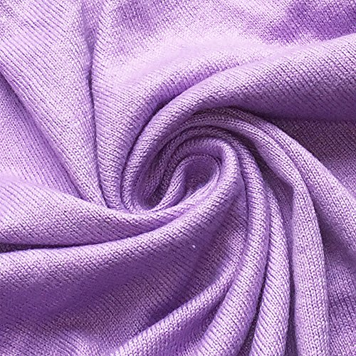 HIDOUYAL -  Cardigan  - Basic - Maniche lunghe  - Donna Hell Violett