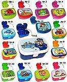 Brotdose / Lunchbox - ' lustige Hexe auf einem Besen ' - mit herausnehmbaren Fach / extra Einsatz - Brotbüchse Küche Essen - für Mädchen & Jungen - Hesen / Katze - Märchen & Raabe - Brotzeitdose - Kinder Vesperdose / Fach / Trennwand - Fächern - Brotzeitbox - Brotzeit Tasche - Vesperbrotdose - Mira Mistelzweig