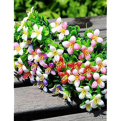 En la decoración del hogar de flores artificiales, plantas plásticas Flores artificiales , Púrpura