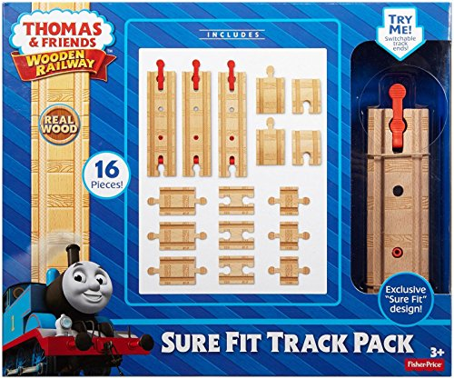 Preisvergleich Produktbild Fisher-Price Thomas the Train Railway Sure-Fit Track Pack by Fisher-Price