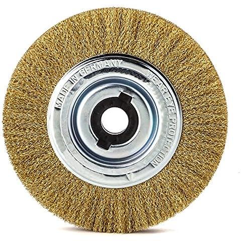 Lessmann 365562 - Ronda de cepillo 200 mm, mm tubo de 50, MES engarzado 0,30 mm