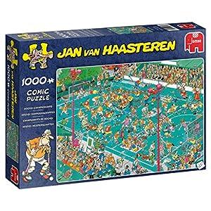 Jan Van Haasteren Hockey Championships 1000 pcs Puzzle - Rompecabezas (Puzzle Rompecabezas, Comics, Adultos, Niño/niña, 12 año(s), Interior)