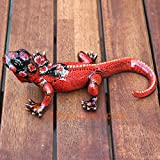 Old Tupton Ware - Lizard - Red and Black