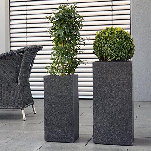 plantara-blumensaule-in-granit-optik-pflanzgefass-persea-saule-anthrazit-23x50-cm-fiberglas
