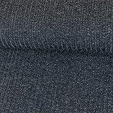 Strickstoff Meliert Lila Einfarbig Uni Strickjersey Modestoffe Strick melangeeffekt - Preis Gilt für 0,5 Meter