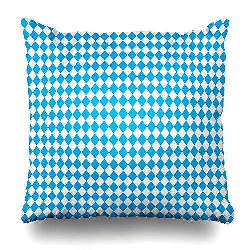 gthytjhv Oktoberfest Blue Abstract Geometric October Festival Color Germanys Worlds Biggest Wine Bavarian Decorative Wurfkissenbezugs 18x18 Farmhouse Couch Kissenbezüge -