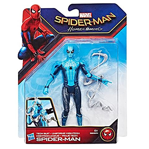 Spider-Man Homecoming Tech Suit Spider-Man 6 Inch Figure