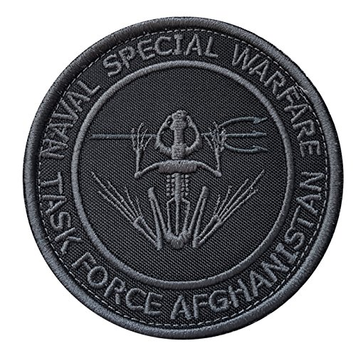 ACU Subdued US Navy Seals NSW Task Force Afghanistan DEVGRU Frog Embroidered Fastener Aufnäher Patch -
