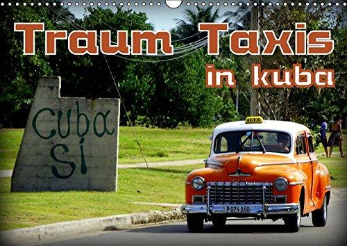 Traum Taxis in Kuba (Wandkalender 2019 DIN A3 quer): Oldtimer Taxis in Havanna und Santa Maria del Mar (Monatskalender, 14 Seiten) (CALVENDO Mobilitaet) - Santas Oldtimer