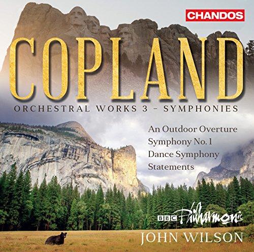 Copland: Orchestral Works, Vol. 3 – Symphonies