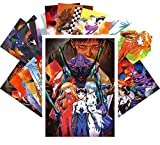 Anime Postkarten Set 24pcs NEON GENESIS EVANGELION Manga Anime CA6058